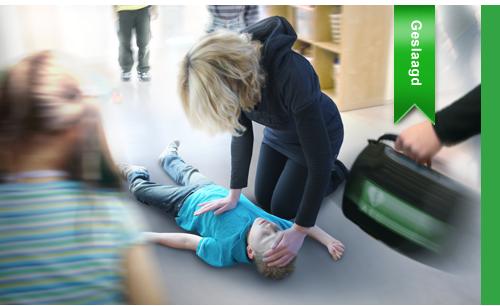Eerste hulp aan kinderen – blended learning